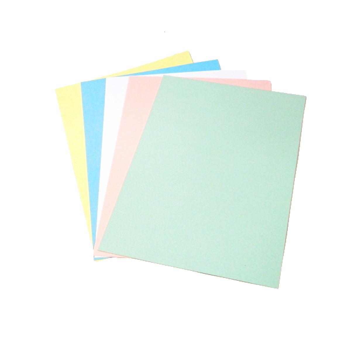 Cartulina bristol a4 v colores unidad for Papel para oficina