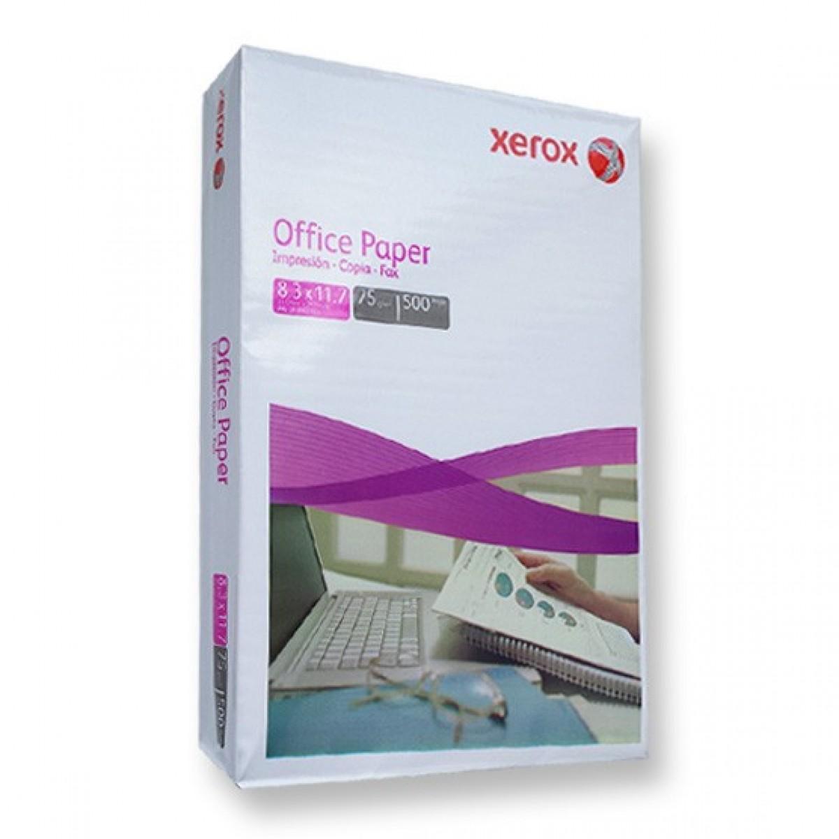 Papel Bond A4 De 75 Gr Xerox 500 H